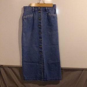 Eddie Bauer Skirts - Vintage Eddie Bauer 100% cotton pencil skirt sz p4
